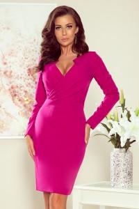 Elegantné silnoružové šaty...