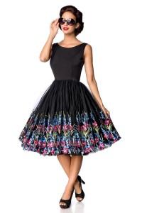 Retro šaty so širokou...