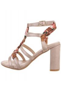 Ružovo-zlaté sandále s...