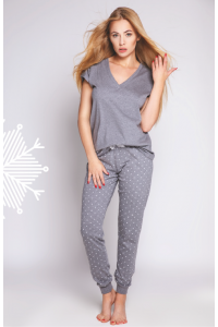 Dámske sivé pyžamo Anabell
