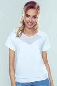 Biele tričko s krátkym...