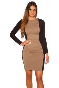 Elegantné šaty s dlhými...